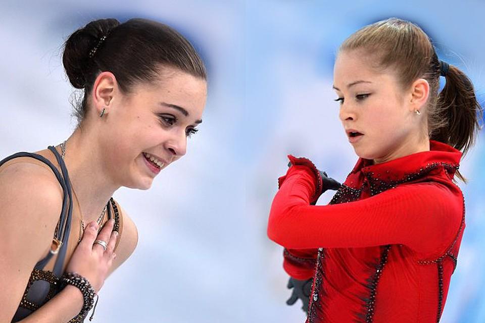 У россиянок есть все шансы получить после них сразу две медали!  Напомним, что после короткой программы наша Юлия Липницкая на пятом месте, а Аделина Сотникова - на втором