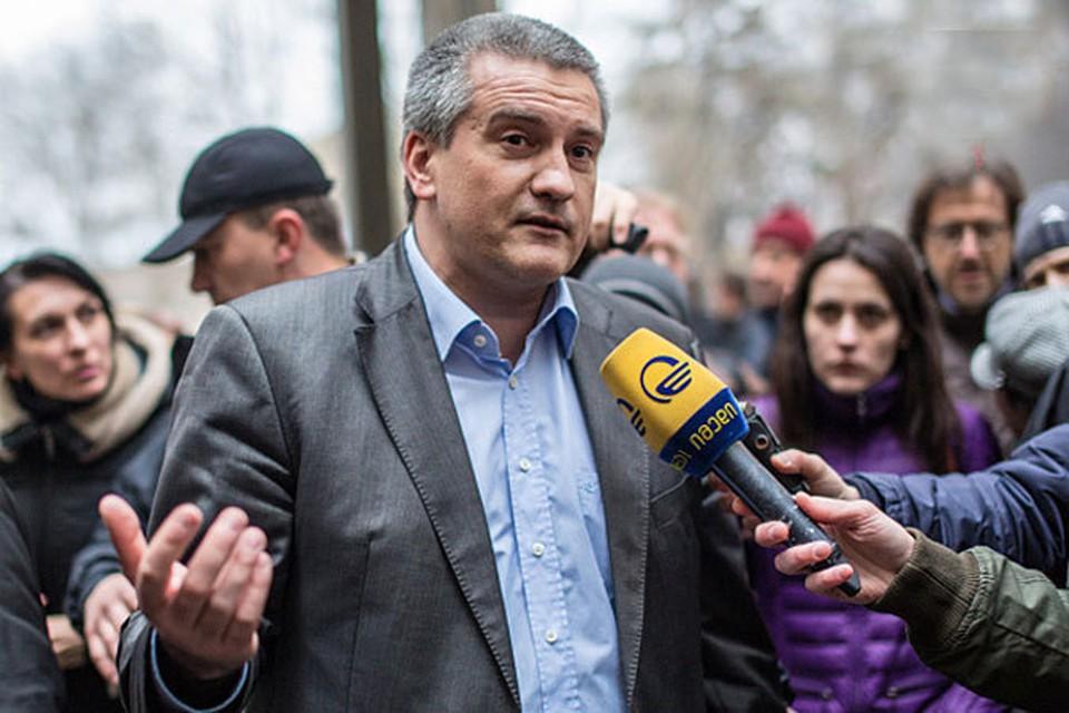 Премьер Крыма Сергей Аксенов.
