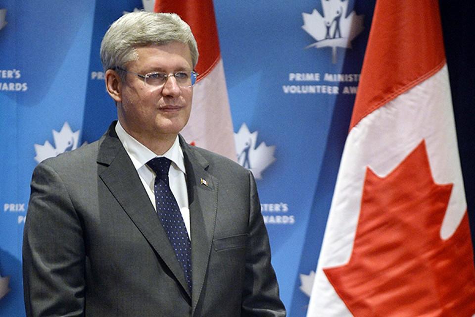 Премьер-министр Канады Стивен Харпер