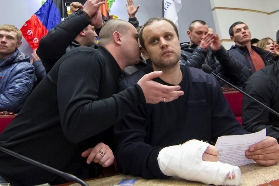 Павел Губарев был задержан около двух недель назад