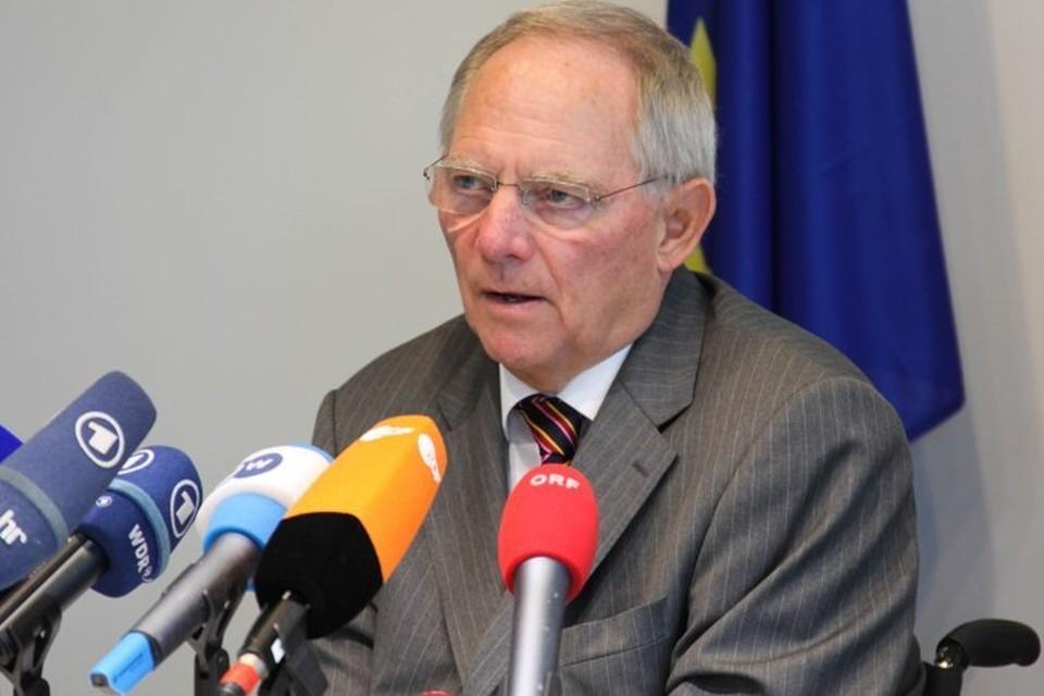 Министр финансов ФРГ: Я же не идиот, чтобы сравнивать Крым с Судетами