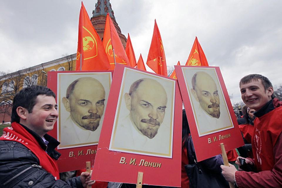 Дата рождения Владимира Ленина (сегодня  - 144 года) обычно на Руси день ратный