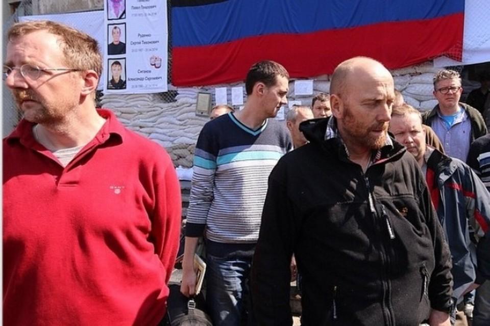 В Славянске освободили наблюдателей ОБСЕ