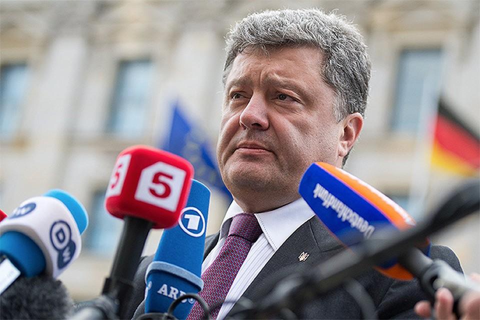Петр Порошенко: Будем вести переговоры с Россией. Без нее мир на Востоке восстановить невозможно