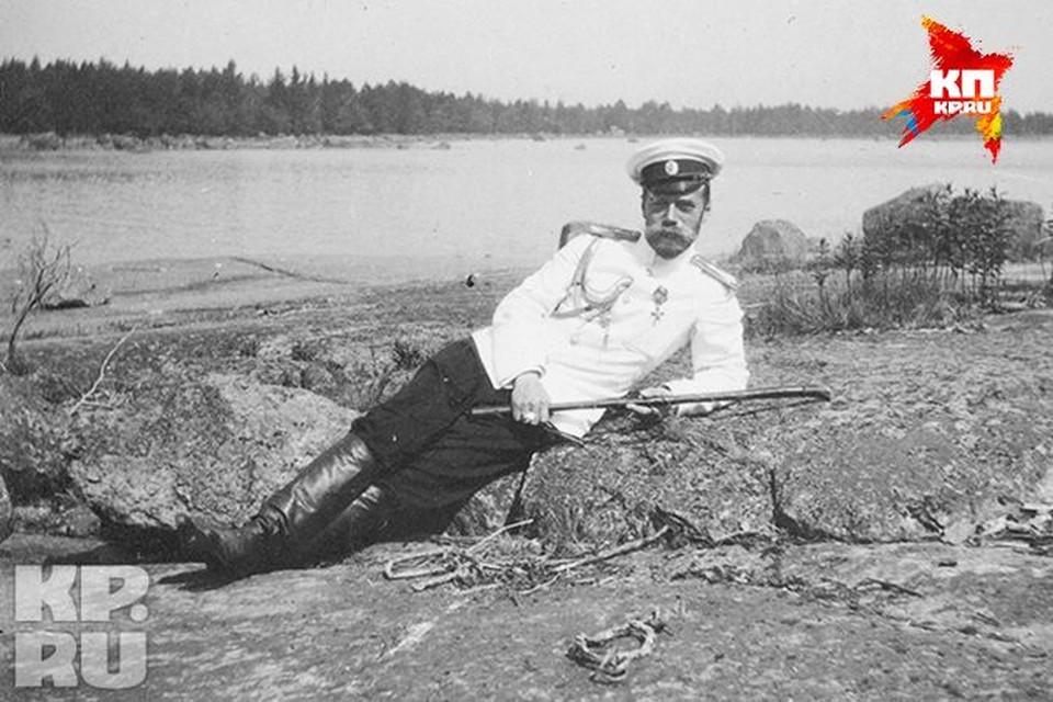 Этот снимок Николая II сделан за четыре года до его гибели.