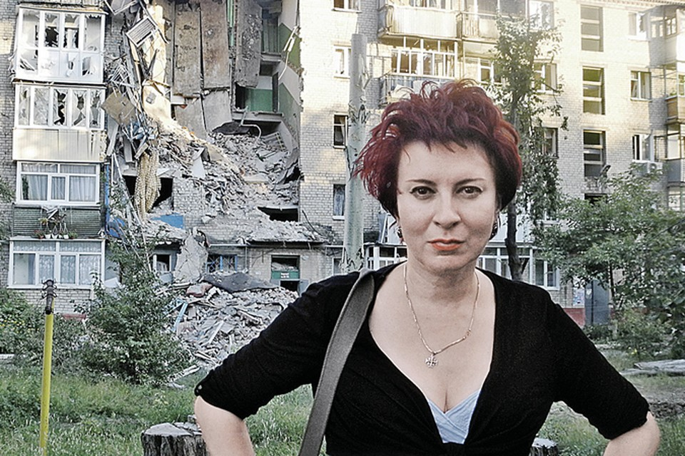 Дарья Асламова работала во многих горячих точках мира. Но увиденное в блокированом Славянске ее потрясло.