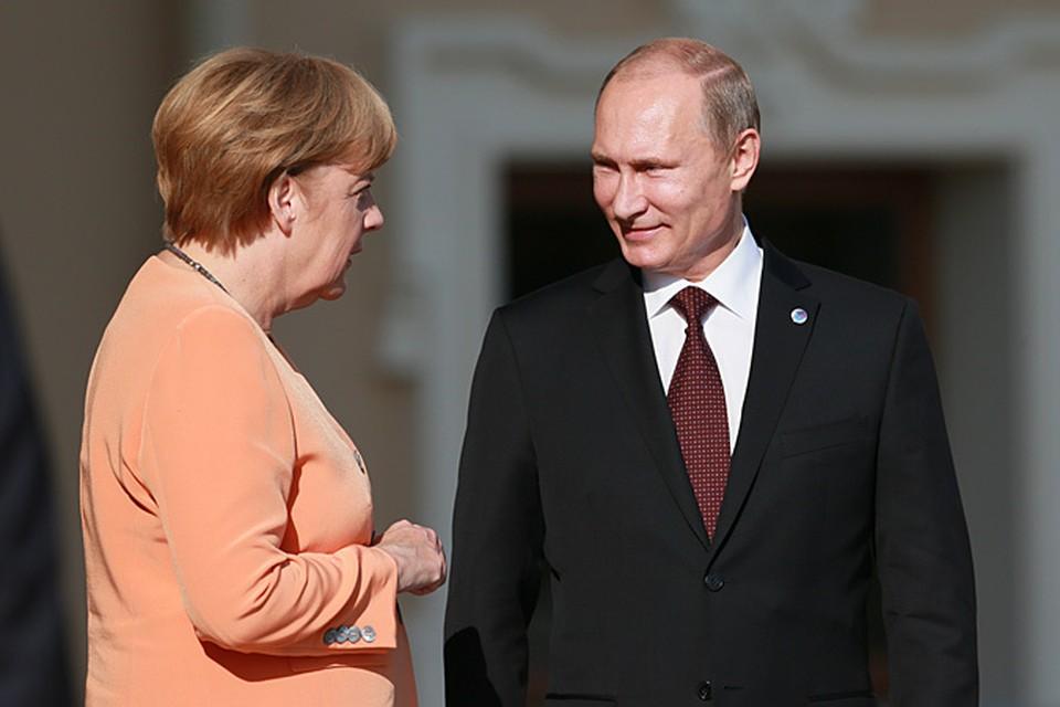 Прямо на стадионе запланирована двусторонняя встреча Путина и Меркель