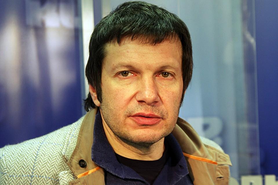Известный телеведущий, писатель, публицист, кандидат экономических наук и общественный деятель Владимир Соловьев