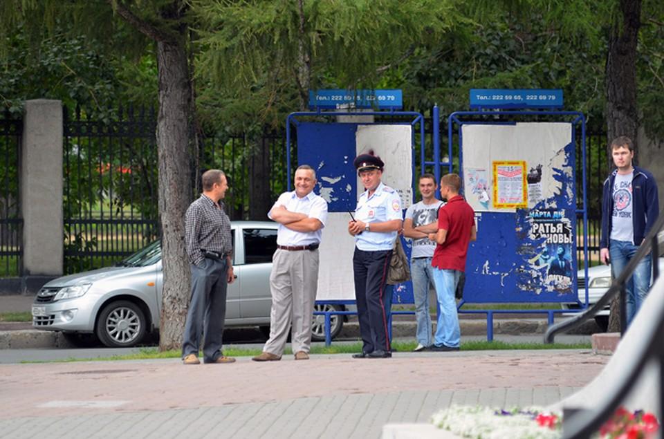 В Новосибирске на марш за федерализацию Сибири никто не пришел