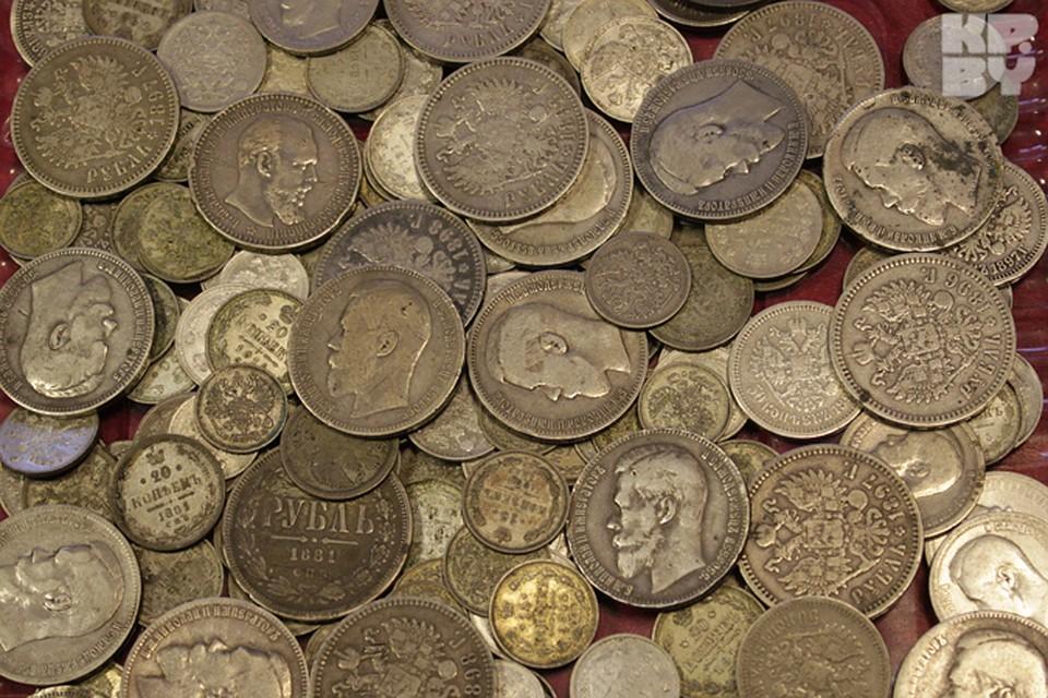 Где можно найти старинные монеты без металлоискателя интерес.