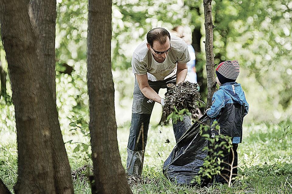Жителям области понравилась экологическая инициатива правительства. </br>Фото: Алексей БУЛАТОВ