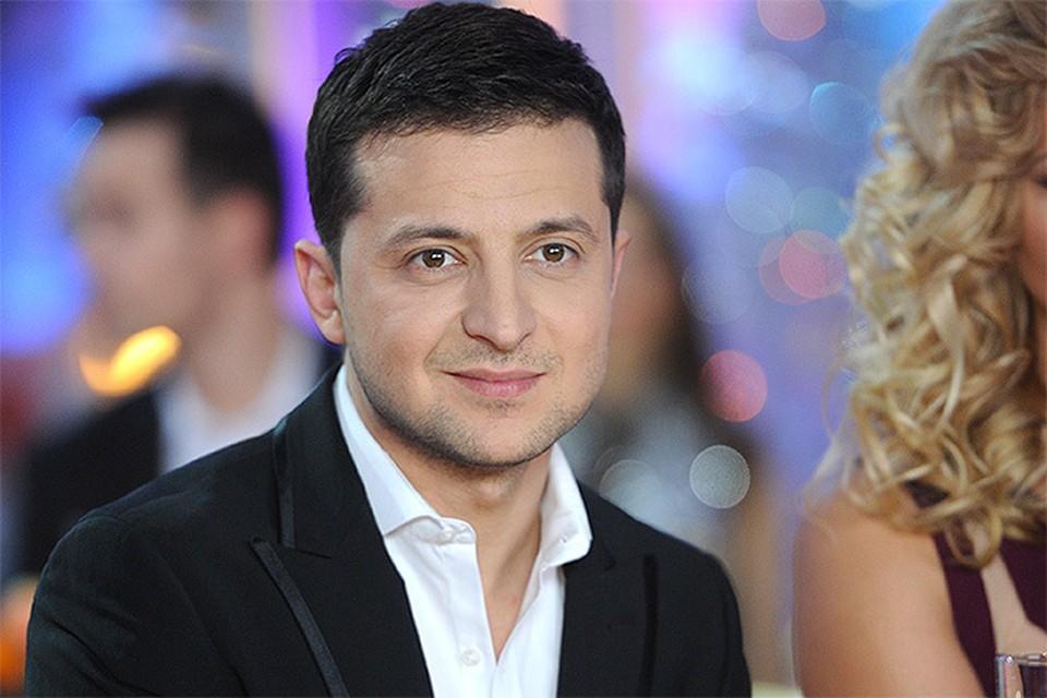 Экс-участник КВН и актер Владимир Зеленский