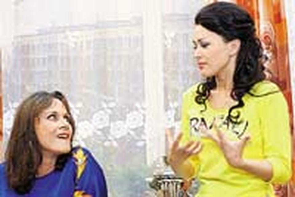 Полищук и Заворотнюк - две главные звезды первого сезона «Моей прекрасной няни».