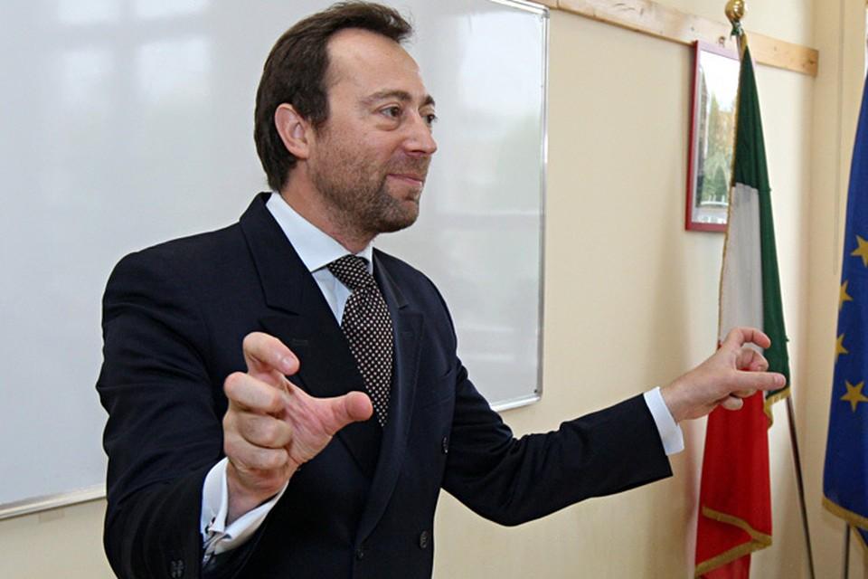 В частности, оптимистично смотрит в будущее Генеральный консул Италии в Москве