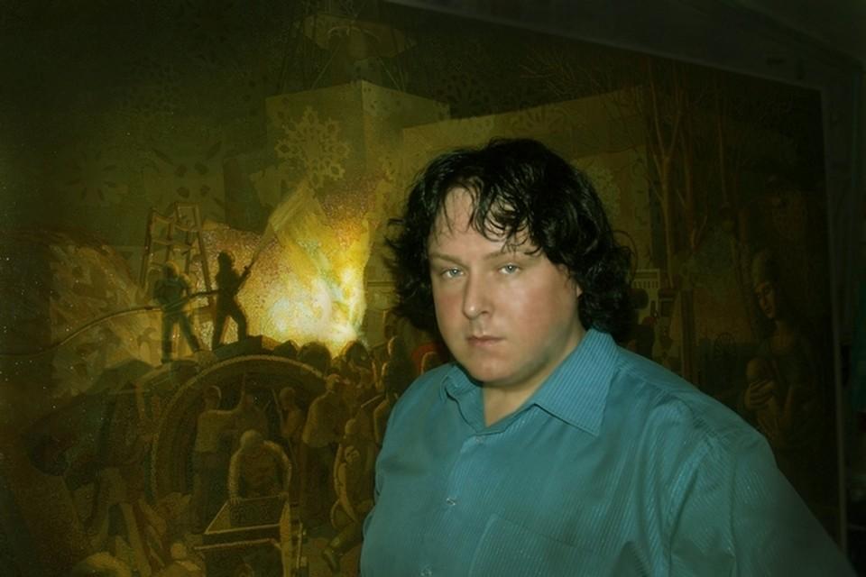 Алексей Акиндинов трудился над картиной два года. Фото: официальный сайт художника.