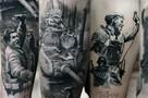 В Петербурге рисуют 3D-татуировки