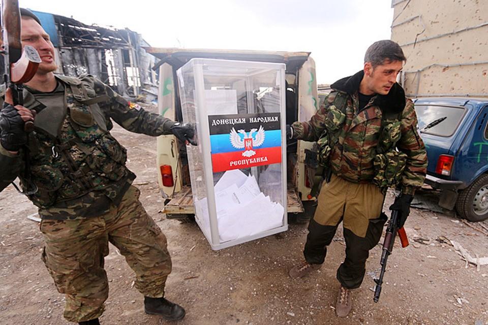 Выборы в ДНР и ЛНР состоялись в минувшее воскресенье.