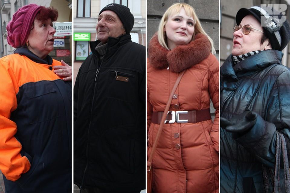"""Комсомолка"" провела опрос на улицах Минска."