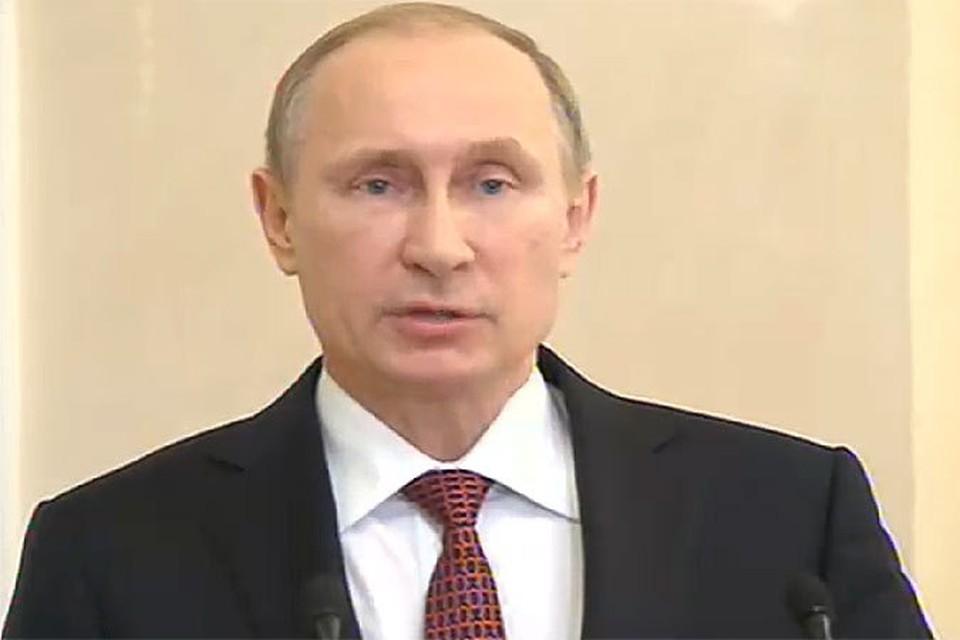 Владимир Путин: перемирие на Украине наступит в полночь 15 февраля. ФОТО: ВГТРК