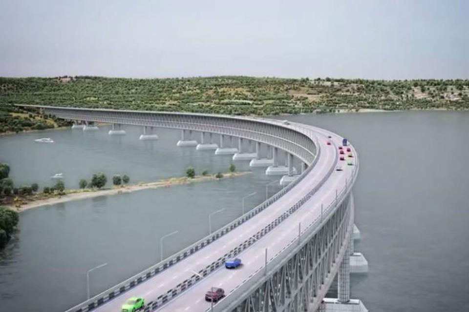 """Строительство моста должны завершить в 2018 году Фото: из архива """"КП"""""""
