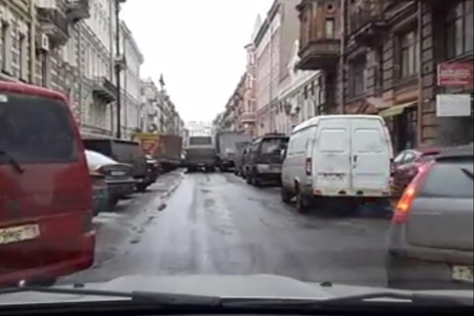 Порно на улицах с фурами