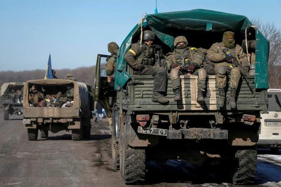 Порошенко еще в среду днем объявил о завершении вывода украинских войск из Дебальцево