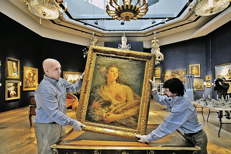 В кризис, когда валюта дешевеет, шедевры искусства только дорожают.