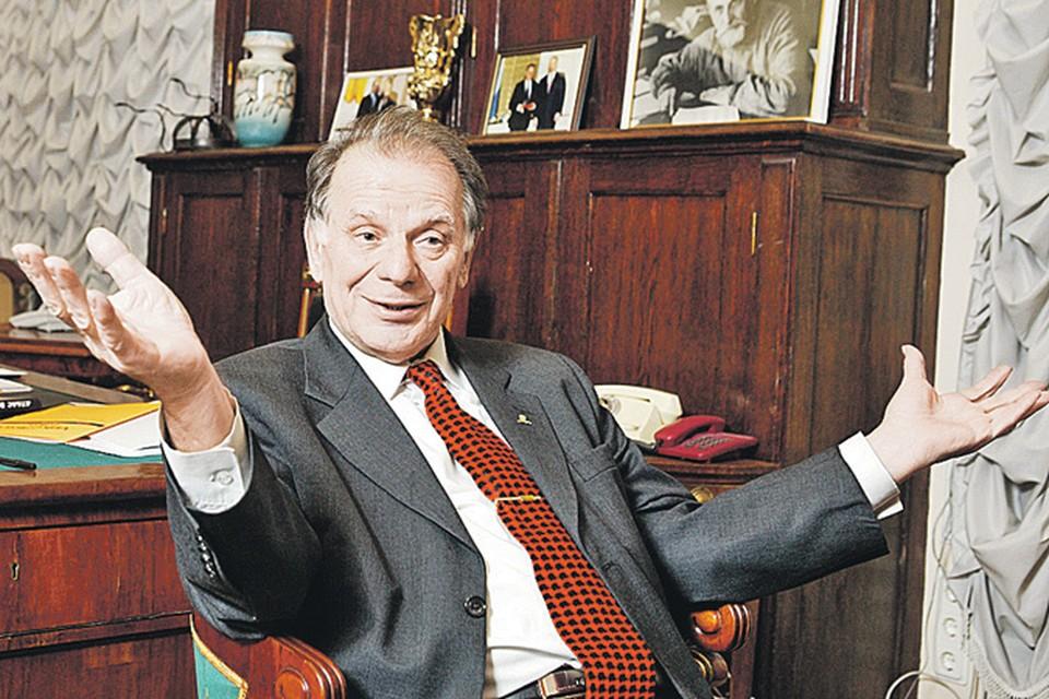 Нобелевский лауреат-юбиляр не собирается почивать на лаврах, сложа руки. Фото: Семен Лиходеев