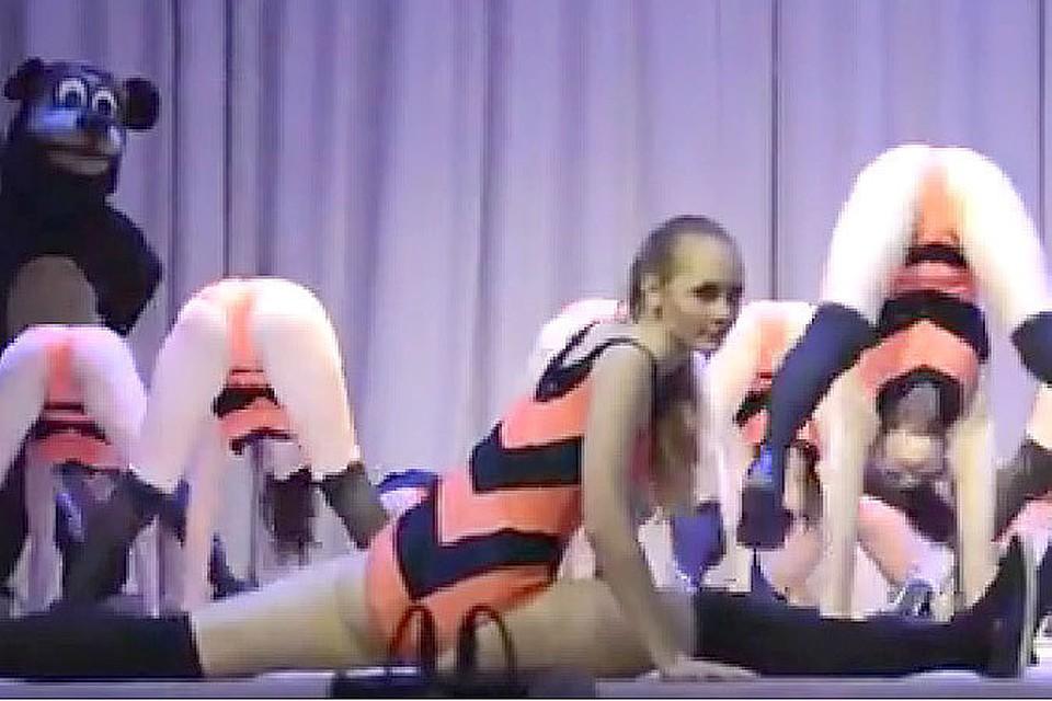 секси девочки в танце хд видео