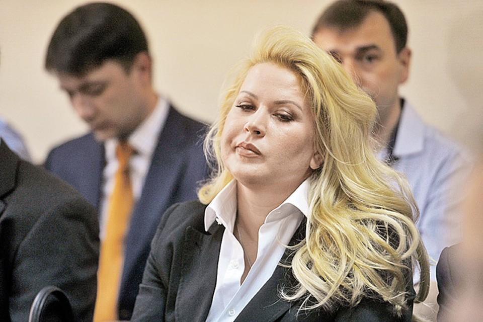 Экс-глава департамента имущественных отношений Минобороны РФ Евгения Васильева