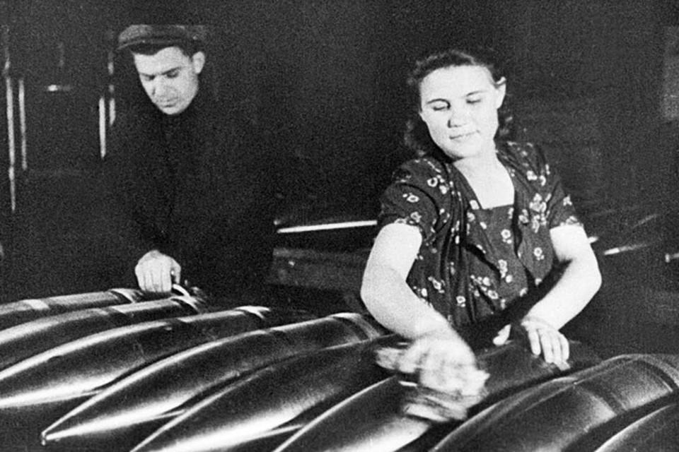 Советская экономика в годы войны одержала победу над немецкой.
