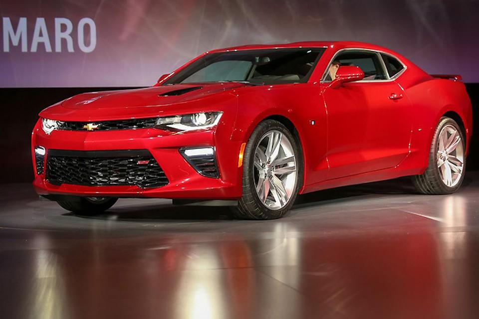 Camaro начнут продавать в этом году. Но цены пока не назвали. Фото Chevrolet.