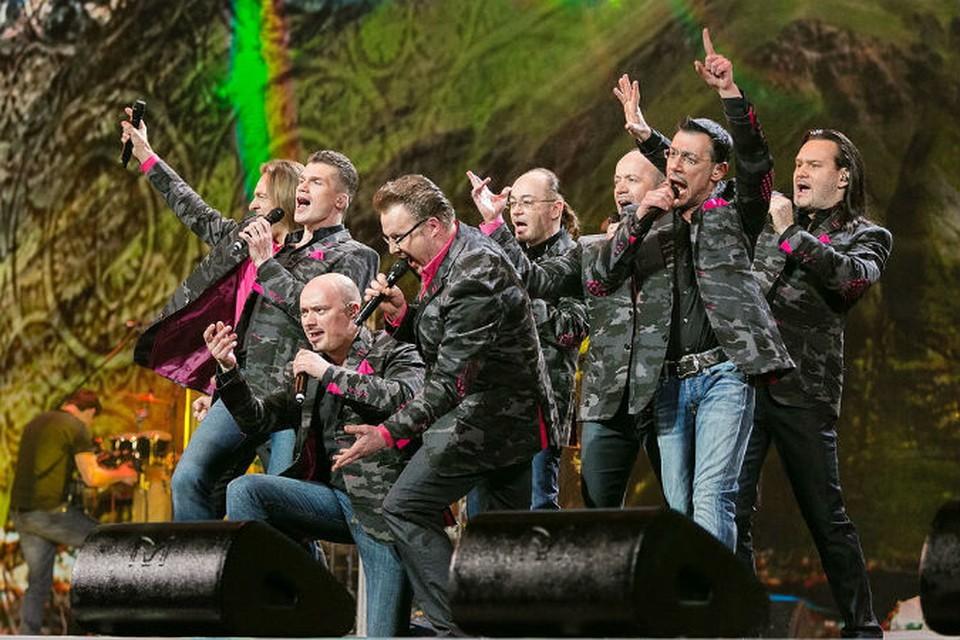 «Хор Турецкого» споет в Ижевске на Дне города-2015 песню «Владимирский централ»