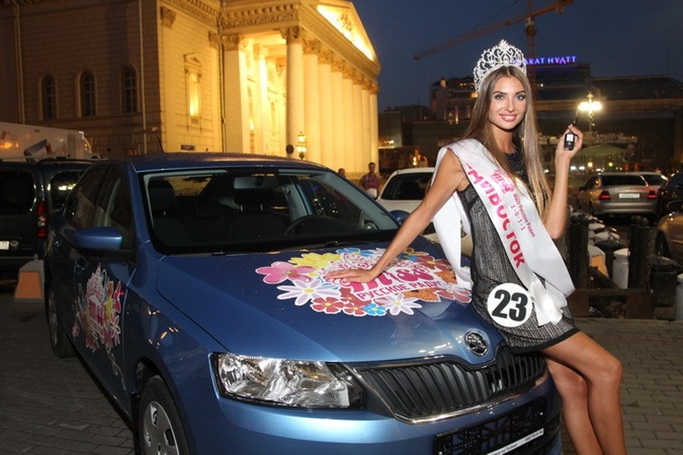 Победительница конкурса Анастасия Пинчук, Владивосток, увезет домой не только корону, но и машину! // фото предоставлено организаторами
