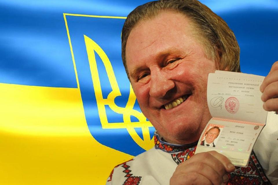 Ставший не так давно россиянином Жерар Депардье, так же попал в украинский стоп-лист