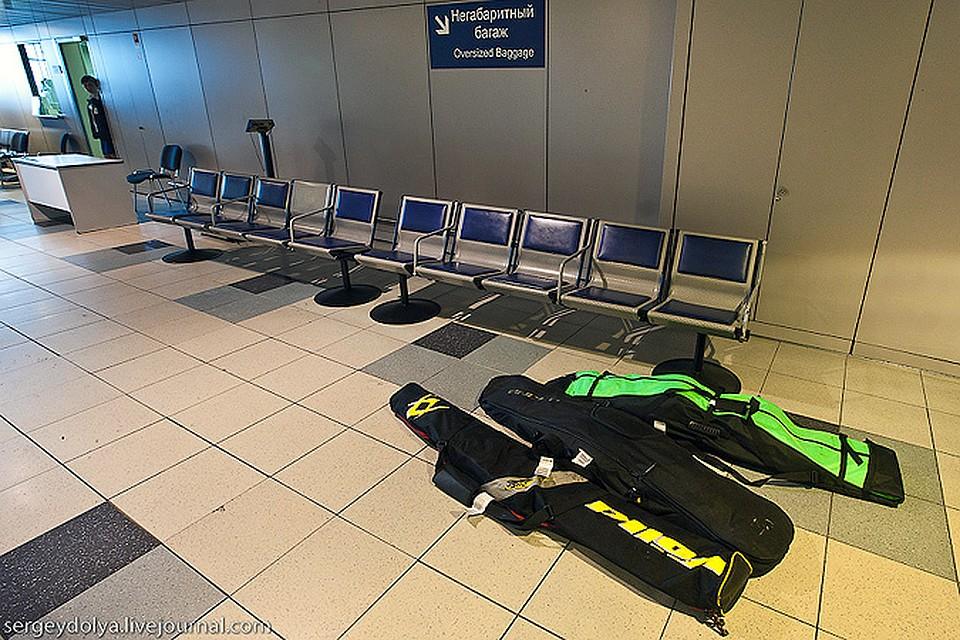 багаж удочки самолет