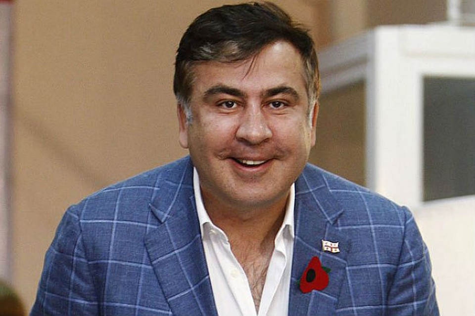 Губернатор Одесской области Украины Михаил Саакашвили