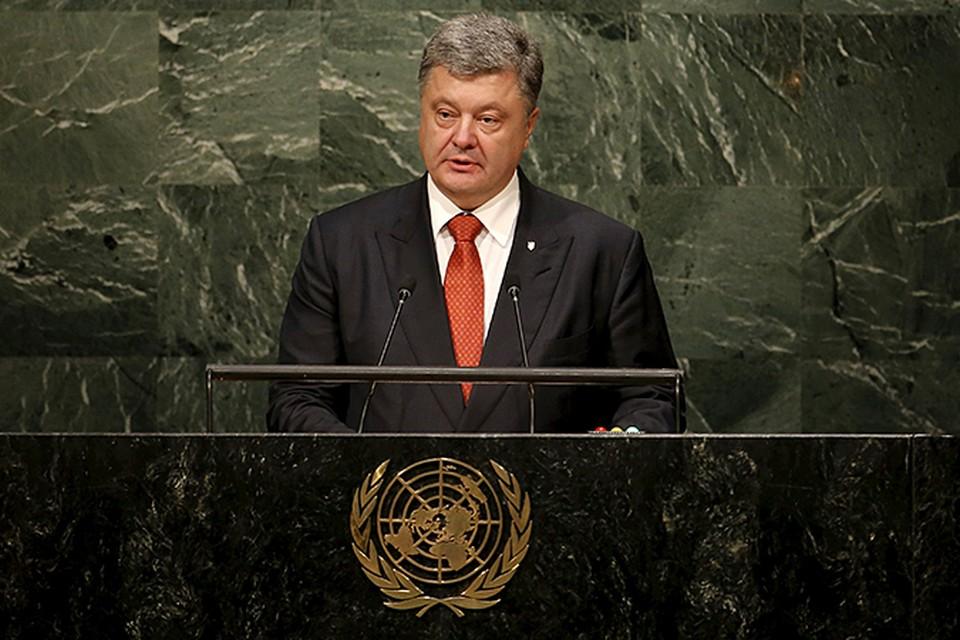 Некоторые СМИ уже посчитали, что выступление Порошенко уже состоялось вечером воскресенья, но они просто немного перепутали