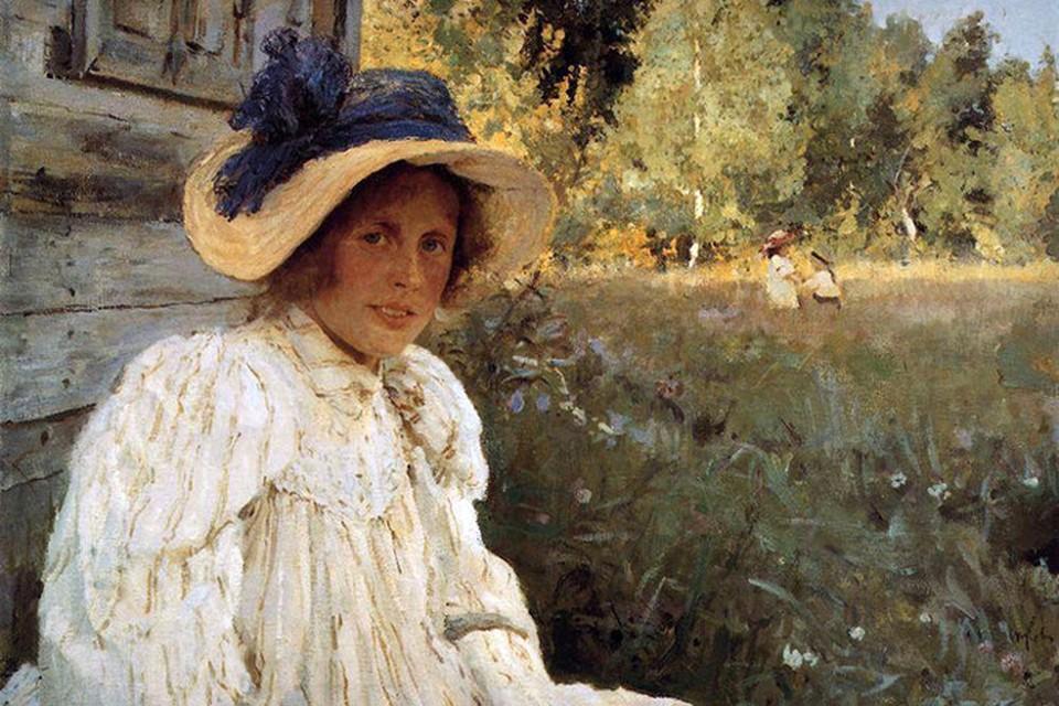 Серова О.Ф. («Летом», портрет жены, 1895) Фото: предоставлено организаторами.