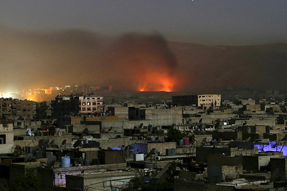 Сирийские военные обнаружили систему подземных лабиринтов, которые окружают Дамаск
