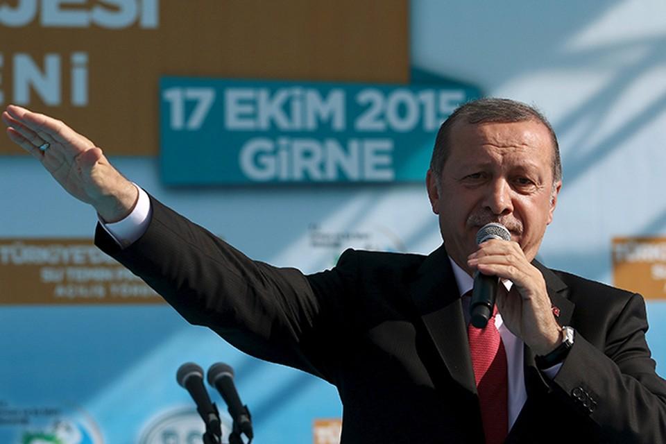 Президент Турции Эрдоган собирается сбить российские самолеты в Сирии