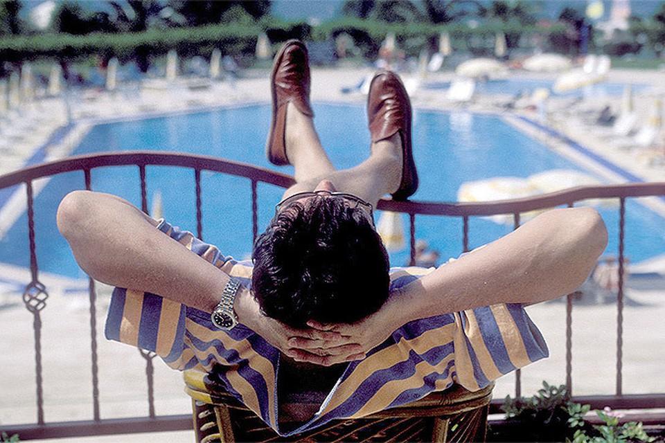 Лень и праздность - залог здоровья, - считает Петер Акст.
