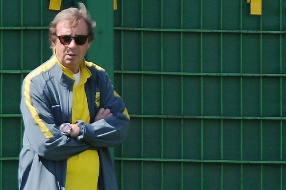 Бывший главный тренер национальной сборной Юрий Семин