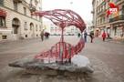 На Финский переулок вернулся «Поцелуй»