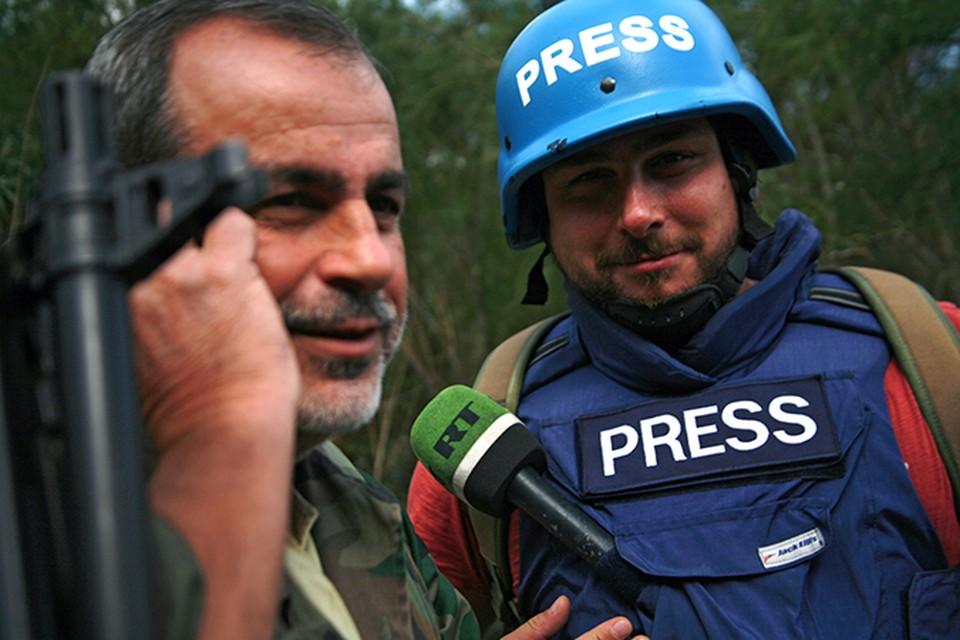 Журналист телеканала RT Саргон Хадая