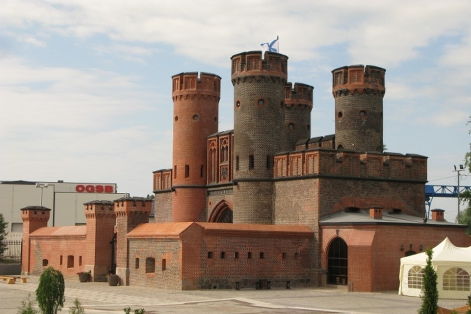 Фридрихсбургские ворота в центре Калининграда.