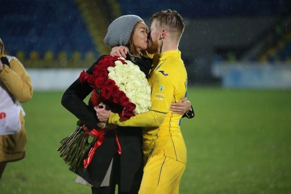 Счастливая пара Иван Новосельцев и Катерина Кейру