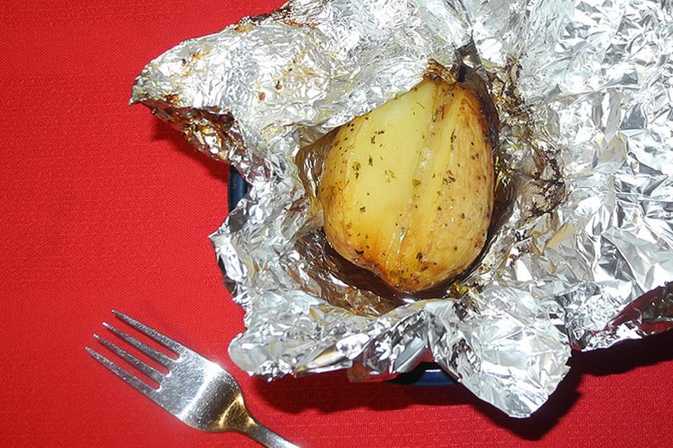 Крошка-картошка, запеченная с ароматными травами
