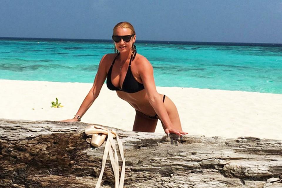 фото на пляже стринги