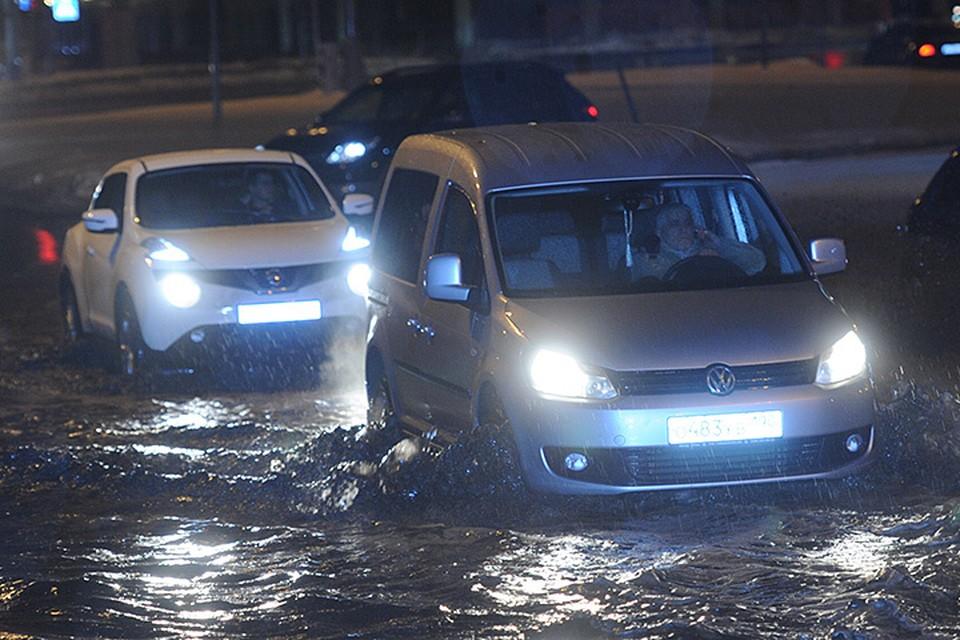 Оттепель привела к потопу в Москве